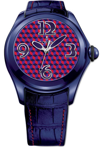 Corum Watches - Bubble 42 mm - Purple Red - Style No: L082/03054