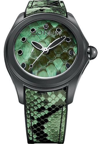 Corum Watches - Bubble 47 mm - Python - Style No: L082/03192 - 082.310.98/0337 PV01