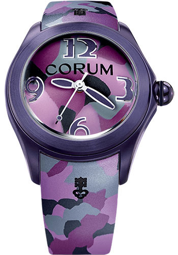 Corum Watches - Bubble 42 mm - Purple Stainless Steel - Style No: L082/03305 - 082.413.98/0390 CA03