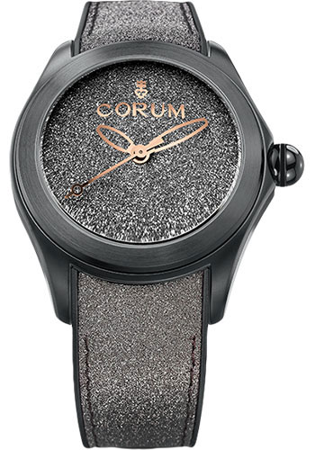 Corum Watches - Bubble 42 mm - Black PVD Stainless Steel - Style No: L082/03629