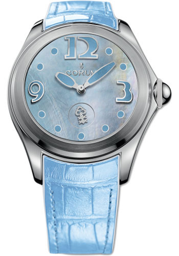 Corum Watches - Bubble 42 mm - Blue Mother-of-Pearl - Style No: L295/03047 - 295.100.20/0011 PN05