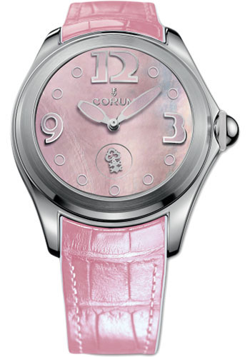 Corum Watches - Bubble 42 mm - Pink Mother-of-Pearl - Style No: L295/03048 - 295.100.20/0088 PN36