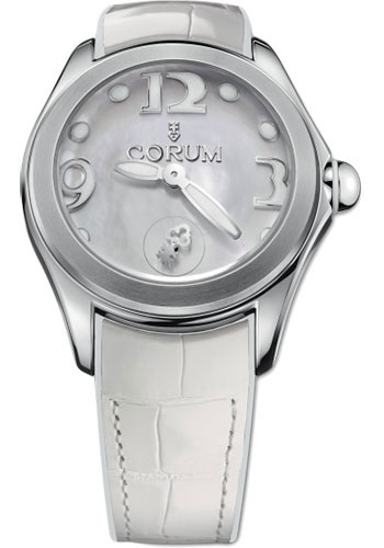 Corum Watches - Bubble 42 mm - White Mother-of-Pearl - Style No: L295/03049 - 295.100.20/0009 PN04