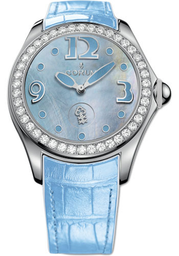 Corum Watches - Bubble 42 mm - Blue Mother-of-Pearl - Style No: L295/03050