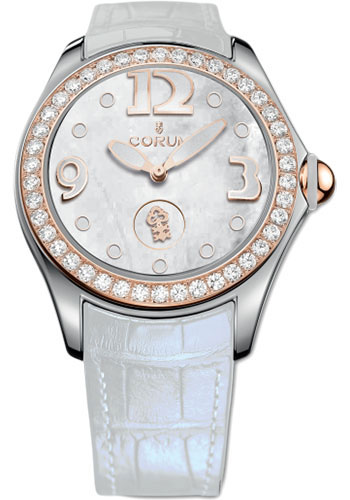 Corum Watches - Bubble 42 mm - White Mother-of-Pearl - Style No: L295/03052