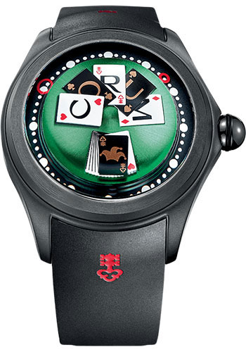 Corum Watches - Big Bubble 52 mm - Magical Game - Style No: L390/03246 - 390.101.95/0371 GC01