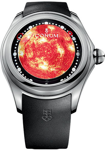 Corum Watches - Big Bubble 52 mm - Magical Solar - Style No: L390/03255 - 390.101.04/0371 SO01