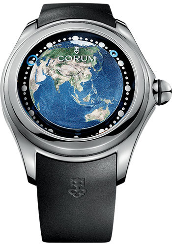 Corum Watches - Big Bubble 52 mm - Magical Earth - Style No: L390/03256 - 390.101.04/0371 AE01
