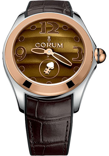 Corum Watches - Bubble 42 mm - Steel and Rose Gold - Style No: L395/03222 - 395.100.24/0002 OT01