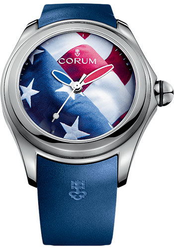Corum Watches - Big Bubble 52 mm - Flag - Style No: L403/03247 - 403.101.04/0373 US01