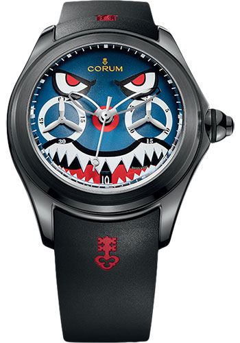 Corum Watches - Bubble Chronograph 47 mm - Titanium - Style No: L771/03542