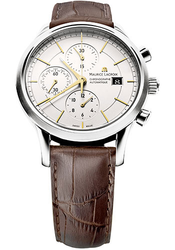 Maurice Lacroix Watches - Les Classiques Chronographe - Style No: LC6058-SS001-131