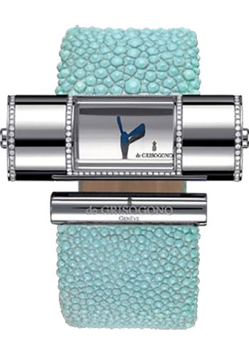 de Grisogono Watches - Lipstick Cylinder White Gold - Style No: LIPSTICK CY S01