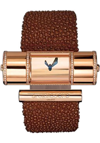 de Grisogono Watches - Lipstick Cylinder Pink Gold - Style No: LIPSTICK CY S04