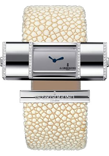 de Grisogono Watches - Lipstick Square White Gold - Style No: LIPSTICK SQ S01