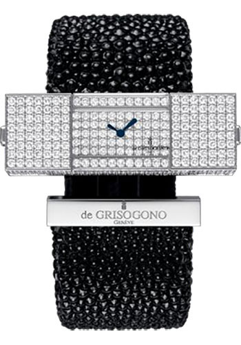 de Grisogono Watches - Lipstick Square White Gold - Style No: LIPSTICK SQ S12