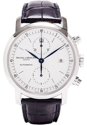 Baume & Mercier Watches - Classima Executives Contemporary Extra Large Chronograph - Style No: M0A08692