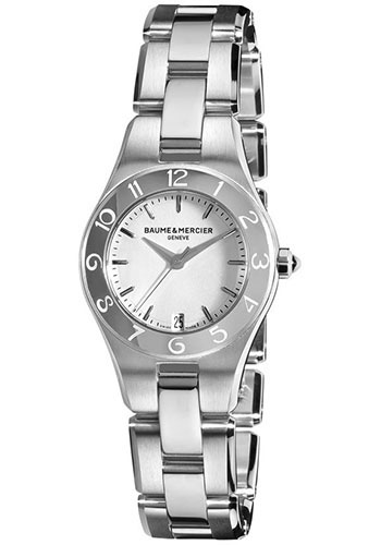 Baume & Mercier Watches - Linea 27mm Stainless Steel - Style No: M0A10009