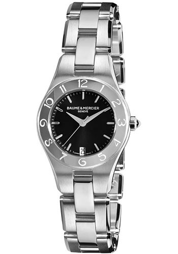 Baume & Mercier Watches - Linea 27mm Stainless Steel - Style No: M0A10010