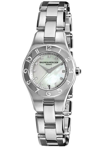Baume & Mercier Watches - Linea 27mm Stainless Steel - Style No: M0A10011