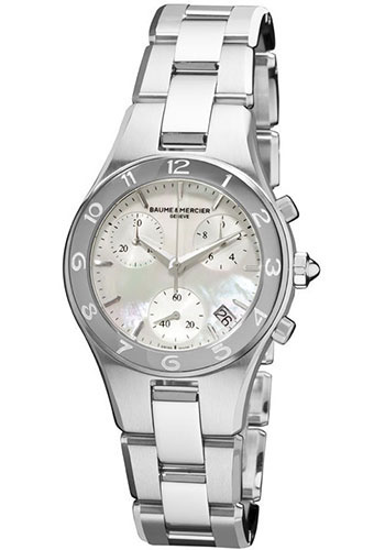 Baume & Mercier Watches - Linea Chronograph Stainless Steel - Style No: M0A10012