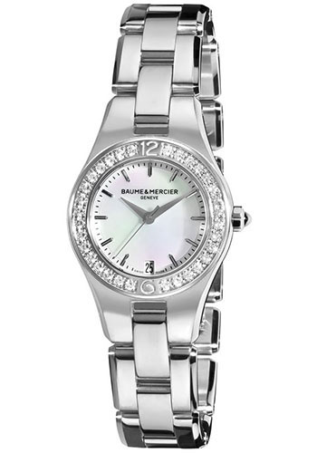 Baume & Mercier Watches - Linea 27mm Stainless Steel - Style No: M0A10013