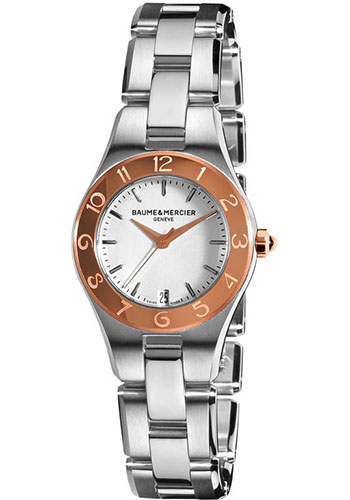 Baume & Mercier Watches - Linea 27mm Two Tone - Style No: M0A10014