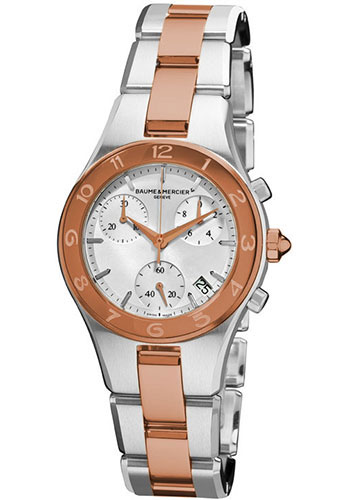 Baume & Mercier Watches - Linea Chronograph Two Tone - Style No: M0A10016