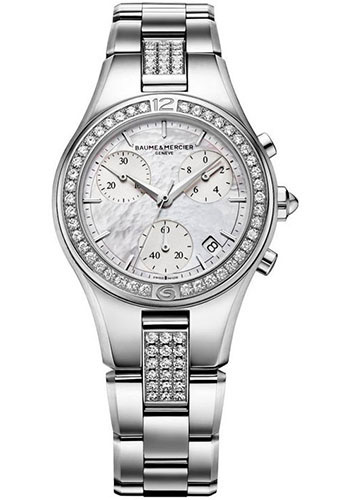 Baume & Mercier Watches - Linea Chronograph Stainless Steel - Style No: M0A10017