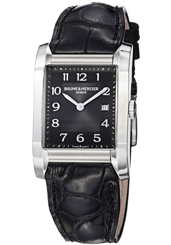 Baume & Mercier Watches - Hampton Stainless Steel Quartz - Style No: M0A10019