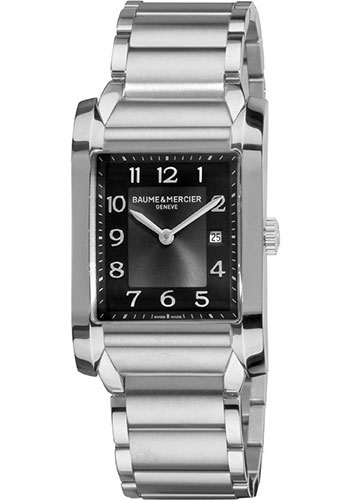 Baume & Mercier Watches - Hampton Stainless Steel Quartz - Style No: M0A10021