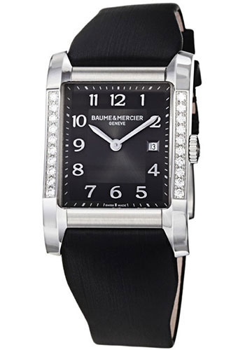 Baume & Mercier Watches - Hampton Stainless Steel Quartz - Style No: M0A10022