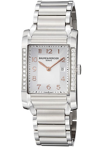 Baume & Mercier Watches - Hampton Stainless Steel Quartz - Style No: M0A10023