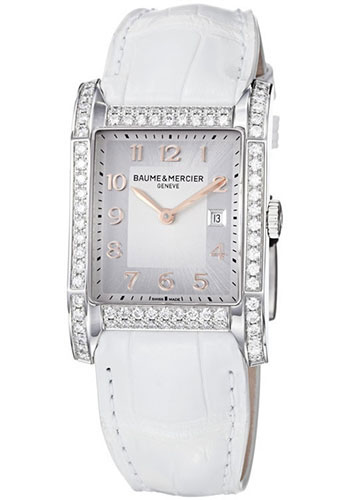 Baume & Mercier Watches - Hampton Stainless Steel Quartz - Style No: M0A10025