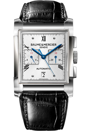Baume & Mercier Watches - Hampton Stainless Steel Chronograph - Style No: M0A10032