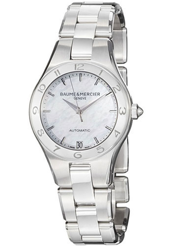 Baume & Mercier Watches - Linea 32mm Stainless Steel Automatic - Style No: M0A10035