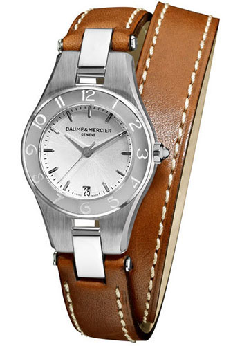 Baume & Mercier Watches - Linea 27mm Stainless Steel - Style No: M0A10036