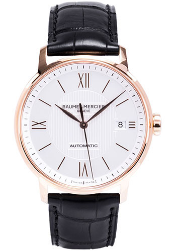 Baume & Mercier Watches - Classima Red Gold Automatic - Style No: M0A10037