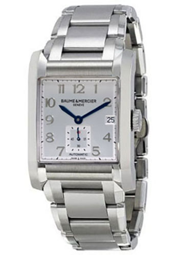 Baume & Mercier Watches - Hampton Stainless Steel Automatic - Style No: M0A10047