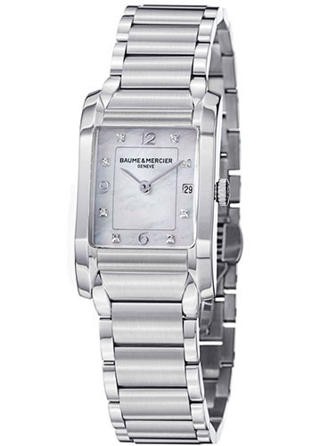 Baume & Mercier Watches - Hampton Womens Stainless Steel - Style No: M0A10050