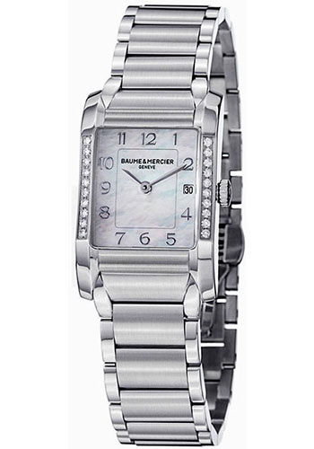 Baume & Mercier Watches - Hampton Womens Stainless Steel - Style No: M0A10051