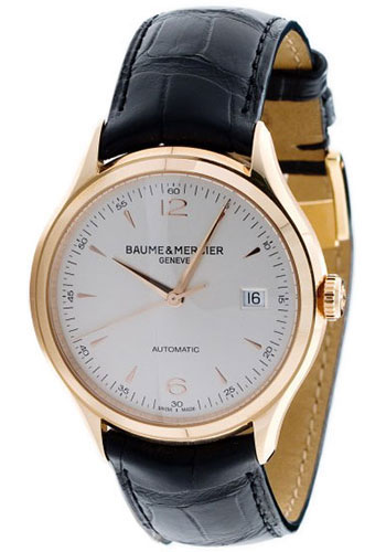 Baume & Mercier Watches - Clifton Red Gold Automatic - Style No: M0A10058
