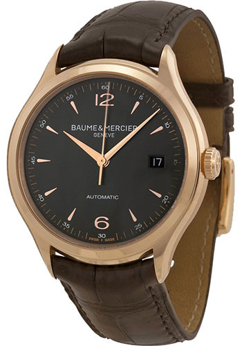 Baume & Mercier Watches - Clifton Red Gold Automatic - Style No: M0A10059