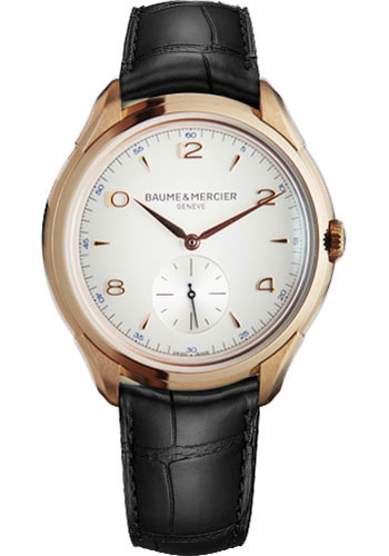 Baume & Mercier Watches - Clifton Red Gold Manual - Style No: M0A10060
