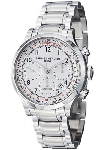 Baume & Mercier Watches - Capeland 42mm Stainless Steel - Style No: M0A10061