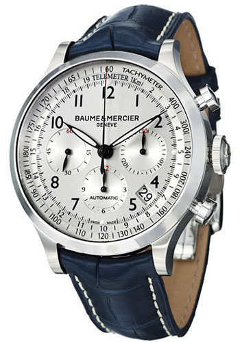 Baume & Mercier Watches - Capeland 44mm Stainless Steel - Style No: M0A10063