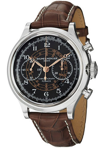 Baume & Mercier Watches - Capeland Flyback Chronograph 44mm Stainless Steel - Style No: M0A10068