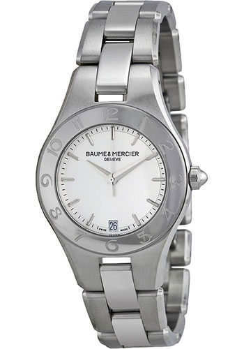 Baume & Mercier Watches - Linea 32mm Stainless Steel Quartz - Style No: M0A10070