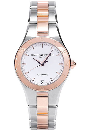 Baume & Mercier Watches - Linea 32mm Two Tone Automatic - Style No: M0A10073