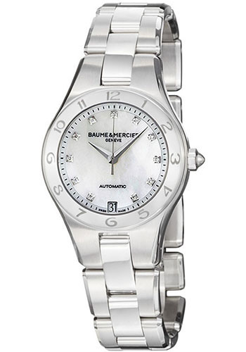 Baume & Mercier Watches - Linea 32mm Stainless Steel Automatic - Style No: M0A10074